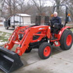 new tractor owner at budds all tractor Jackson mi